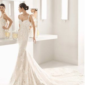 Rosa Clara wedding dress Oboe